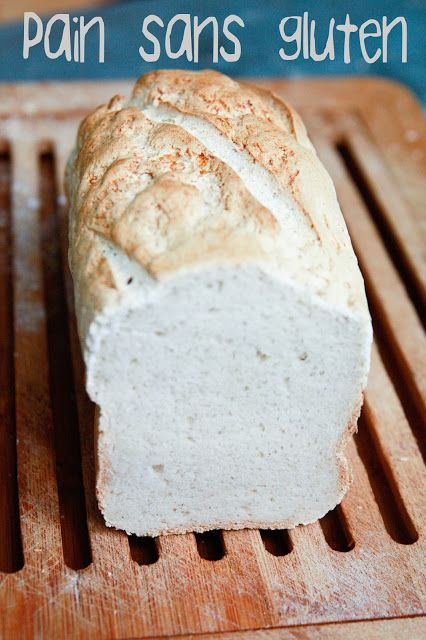 Cette fois-ci je ne vais pas vous parler de mon cher ami Germain le levain, mais de pain ... sans blé ! J'ai tout simplement voulu essayer de faire un pain avec de la farine sans gluten, pour savoi...