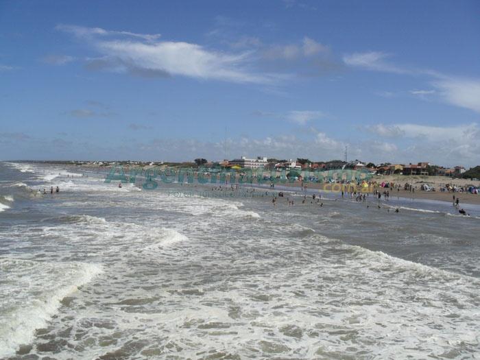 playas del Mar del Tuyu, Costa Atlantica, Argentina