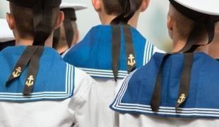 Детский костюм моряка сшить