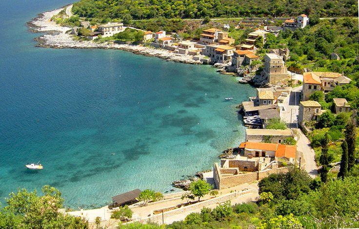 TRAVEL'IN GREECE I Limeni, Mani fishing village