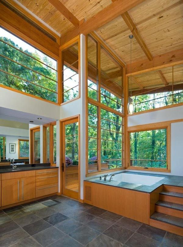 Earthy style and setting, Earth-friendly by design: Contemporary wood home has it all   Modern House Designs