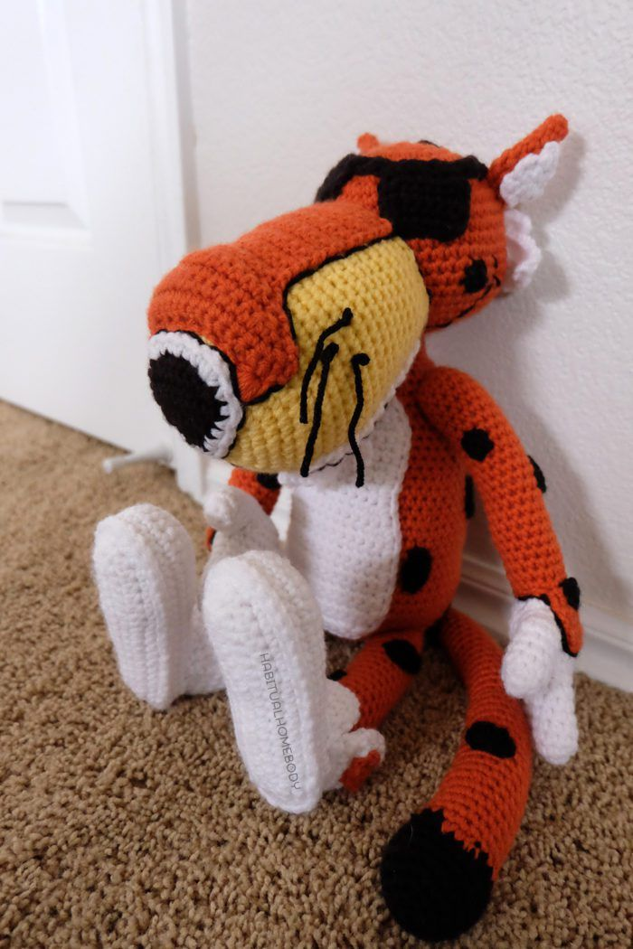 What's On My Hook: Chester the Cheezy Cheetah!