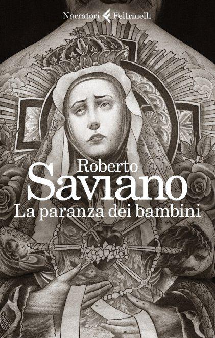 """La paranza dei bambini"""": la copertina del nuovo libro di Roberto Saviano"""