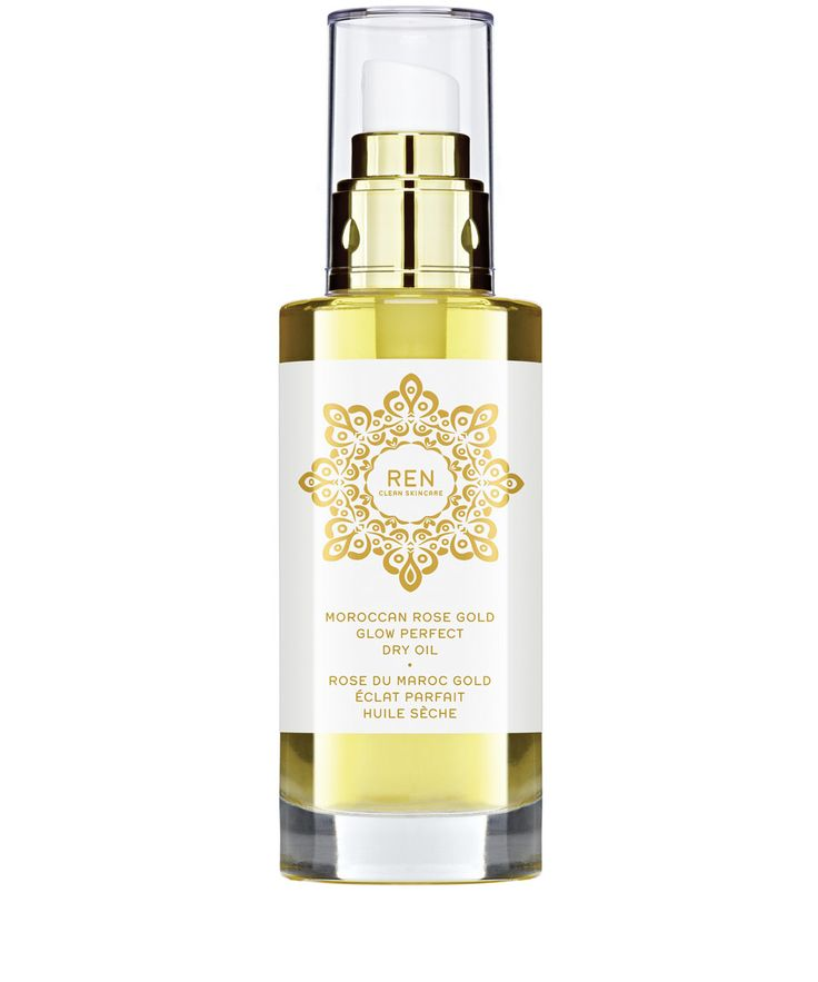 Ren Moroccan Rose Gold Glow Perfect Dry Oil 100ml | Beauty | Liberty.co.uk - I bet this smells yummy