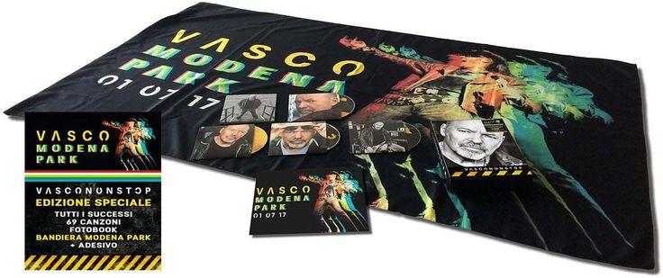 Vasco Rossi - Vascononstop (4 Cd+Bandiera+Adesivo) (CD Nuovo)