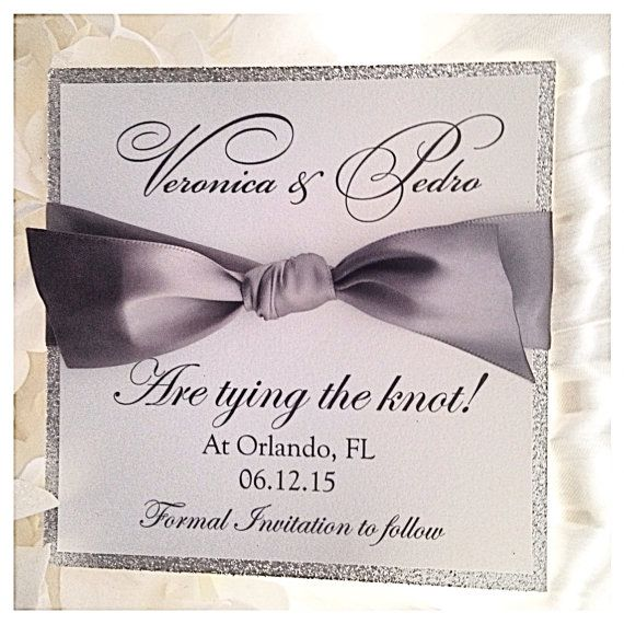 To see all of our listings visit us at http://www.etsy.com/shop/VPElegance    ‡ How to order:    The price listed is for one save the date card