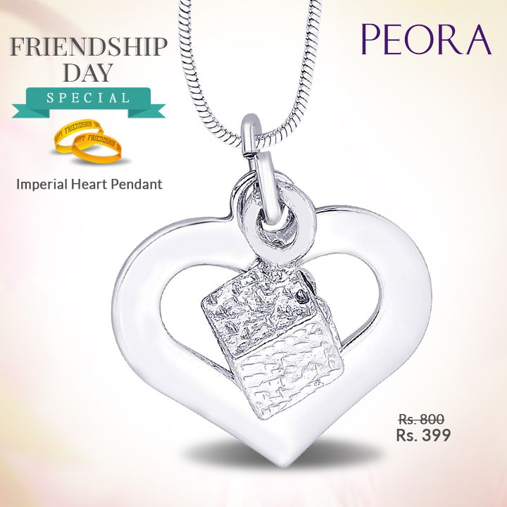 A perfect #gift for your #specialfriend this #FriendshipsDay who is overseas! Buy #online from #Peora - we deliver #happiness across the #globe! http://bit.ly/1Iiihv6