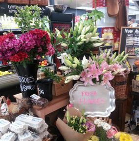 Fresh Flowers at Coopers & Co.