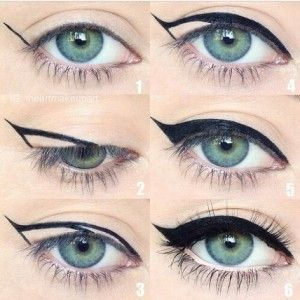 Start at the end. Instead of working towards the flick, perfect your flick first, and then draw into the eye, for some reason drawing downwards creates a smoother application, while pulling the skin taut can help stop any lumps or bumps. - See more at: http://www.careergirldaily.com/how-to-apply-flawless-eyeliner/#sthash.XlFGrXEi.dpuf