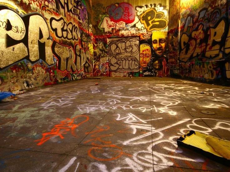 Graffiti Room.