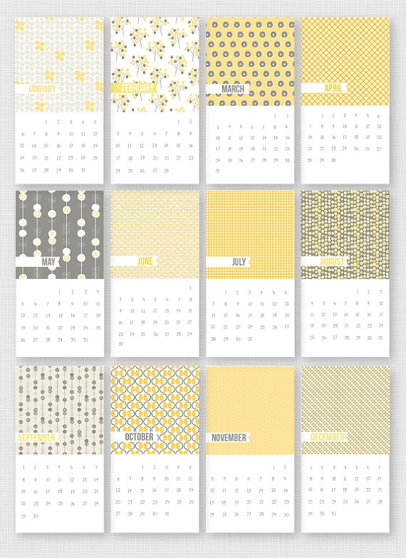 23 best calendars images on Pinterest | 2013 calendar, Calendar ...