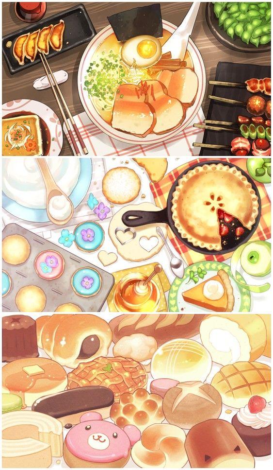 萌物 可爱 美食