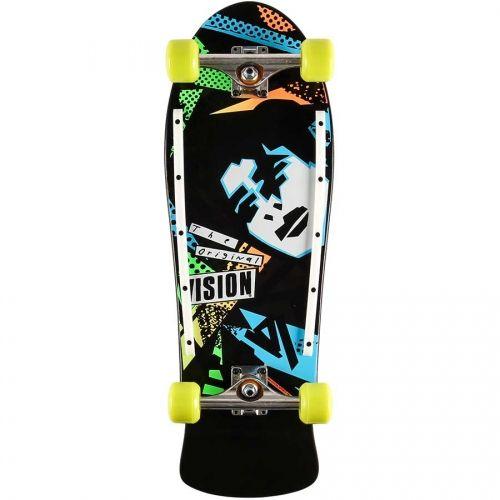 Vision Skateboards  Vision Old School Gonz Re-Issue Premium Complete  Black Dip 10x30