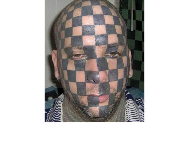 39 Tragically Bad Face Tattoos...I Can't Look Away. (Slide #12) - offbeat