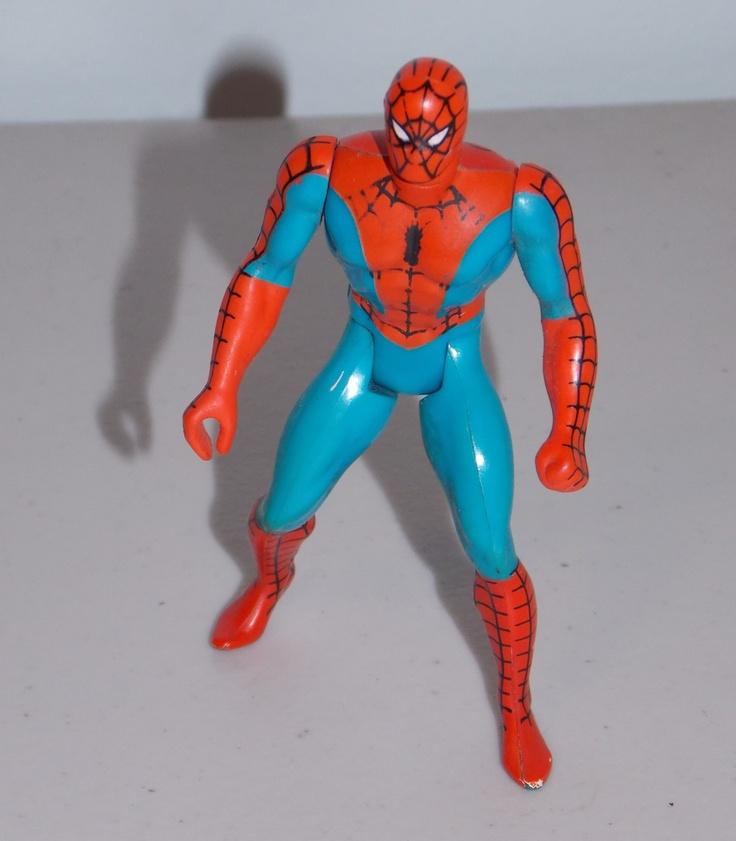 Non participant classic spiderman toys the