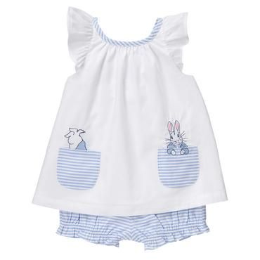 Baby Country Blue Peter Rabbit 2-Piece Set by Gymboree