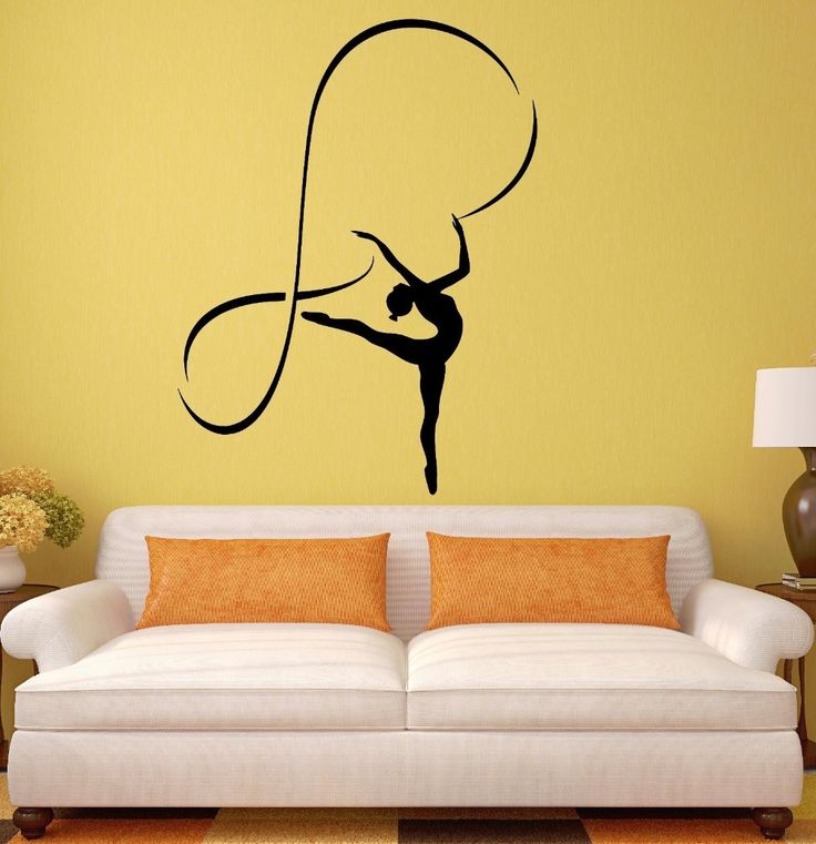 Las 25 mejores ideas sobre sala de gimnasia en pinterest for Pegatinas para dormitorios