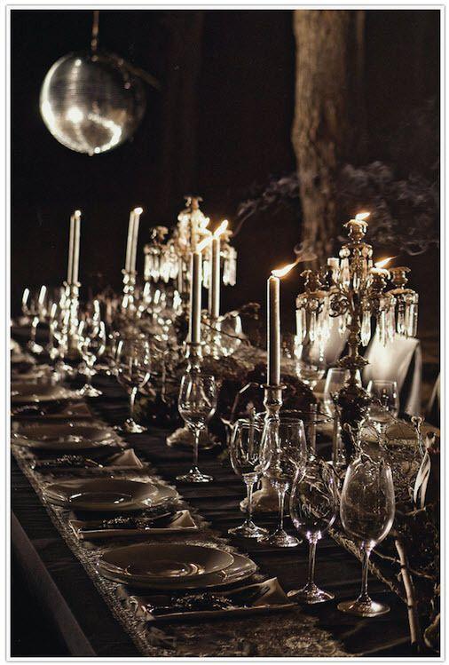 Gotik-Romantik Düğün Dekoru - Evmanya Blog