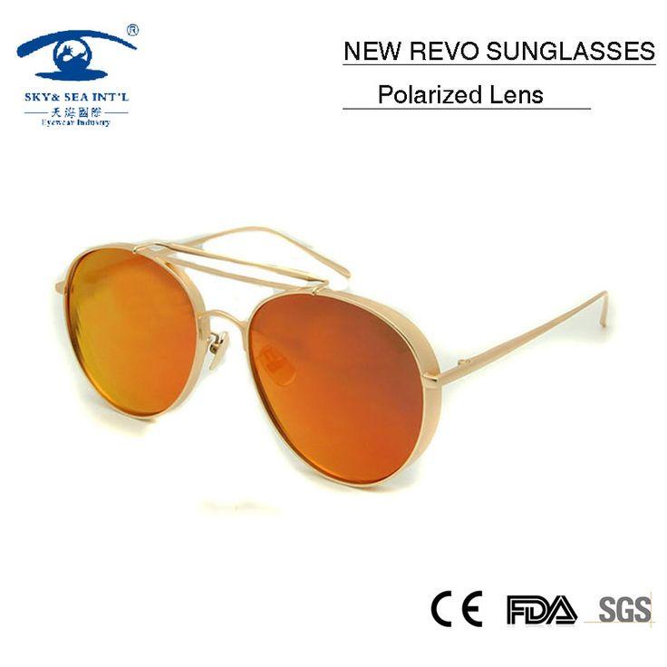 2016 Brand Designer Women Sunglasses High Quality Sun Glasses Polarized Glasses Woman Round Pilot gafas polarizadas mujer