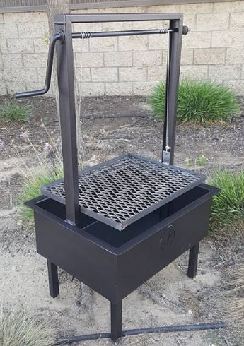 24x18 Quot Height Adjustable Santa Maria Grill Outdoor In