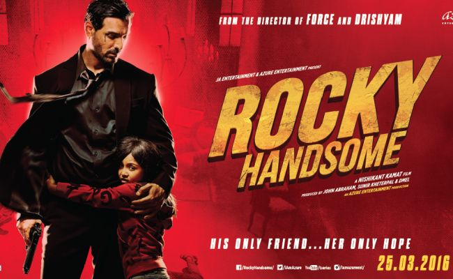 Movie: Rocky Handsome Cast: John Abraham, Shruti Haasan, Nishikant Kamat, Nathalia Kaur, Sharad Kelkar Writer:  Ritesh Shah Director: Nishikant Kamat Our rating: 3.5/5 Official trailer: www.youtube.com/watch?v=mMjPokU5-0w