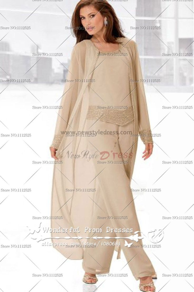 The dress agency horncastle - Flesh Pink Three Piece Mother Of The Bride Pants Set With Long Coat Nmo 046