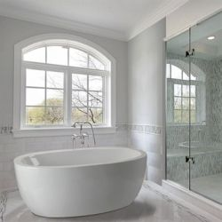 Do you love the look of a stand alone tub in a large bathroom? Whether your tastes run towards traditional or modern style, these tubs are a key...
