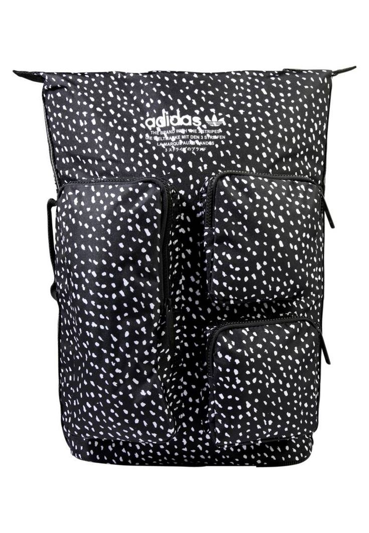 "adidas Originals. DAY - Rucksack - multco. Pattern:animal print. Fastening:Zip. Compartments:mobile phone pocket. length:15.0 "" (Size One Size). width:4.5 "" (Size One Size). Lining:Polyester. carrying handle:1.0 "" (Size One Size). Outer mat..."