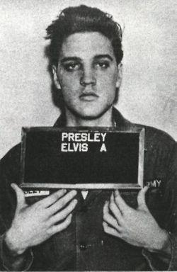 : Music, Elvis Mugshot, Face, Bad Boys, Mugshots, Elvis Presley, Photo, People, Mug Shots