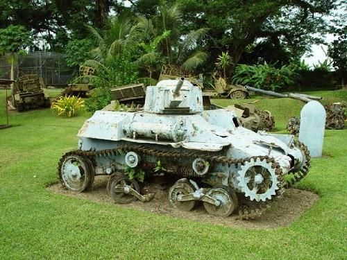 Papua New Guinea Rabaul Military Museum showcasing WWII war relics   http://www.pagahillestate.com/exploring-world-war-ii-relics/