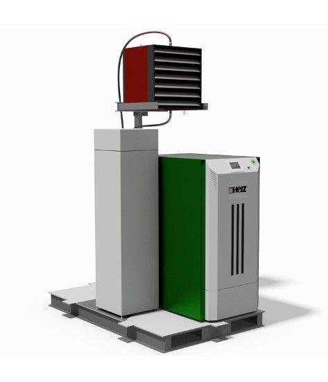 Leading biomass heating specialists Rural Energy have launched the AIRMatic Biomass Space Heater – an innovative new compact solution that packs a big punch, ideal for warehouses and large industrial units