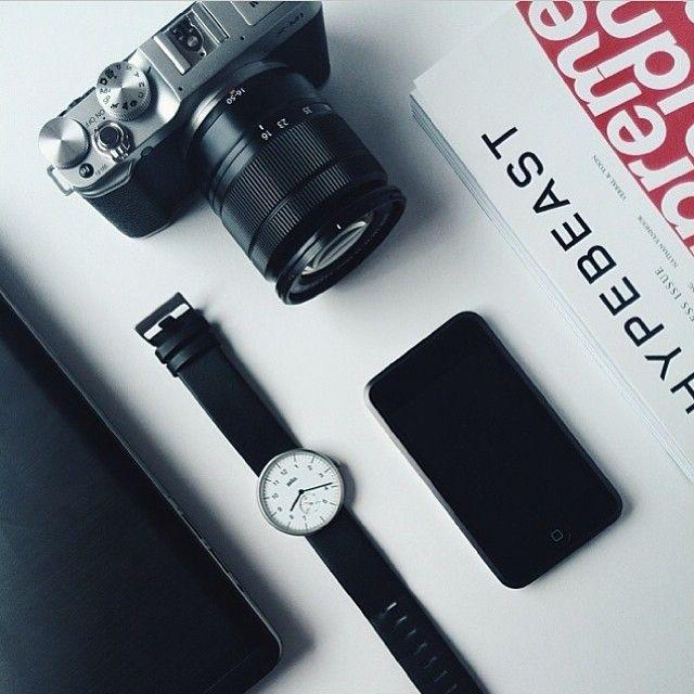 Photo: @subky  #thewatchco #braunwatches #braun #dieterrams #design #hypebeast #supreme #fujifilm