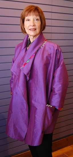 "Yvonne Porcella jacket, 51-63"", vary fronts, collars - terrible instructions."