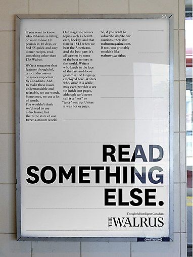How do you advertise a magazine that features some of the best long-form journalism around? With long-copy ads of course. This campaign by C...