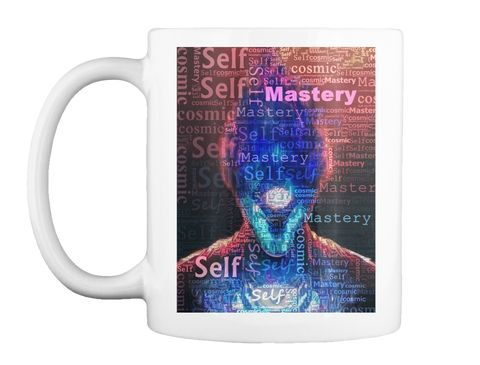 Master The Self White T-Shirt Front