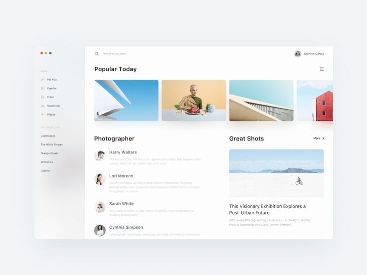 Photography Sharing App for Mac by Leo Wong
