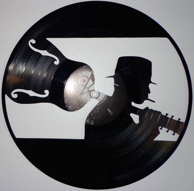 Best 25 record art ideas on pinterest vinyl record art for Vinyl records arts and crafts