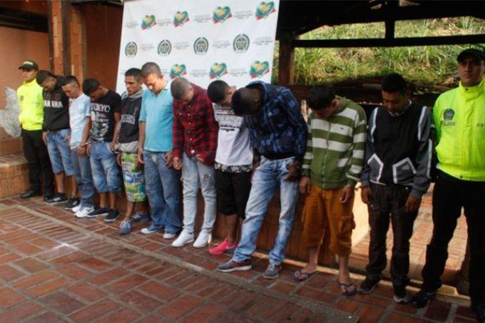 Capturada en Barranquilla banda que robaba carros en 3 países