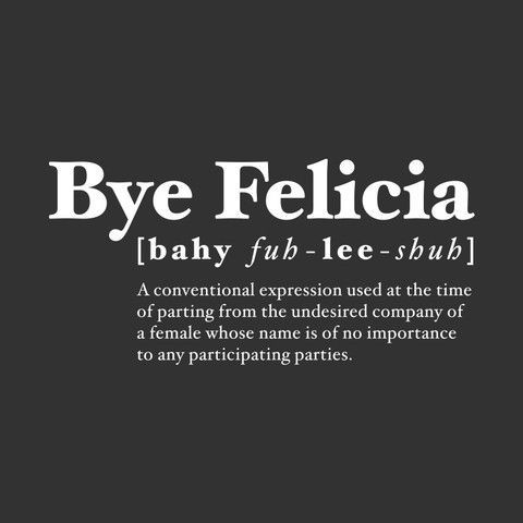 #ByeFelicia Gets an Uncomfortable New Origin Story http://nymag.com/thecut/2015/08/byefelicia-gets-an-uncomfortable-origin-story.html?utm_source=Sailthru&utm_medium=email&utm_campaign=Vox%20Sentences%208.18.15&utm_term=Vox%20Newsletter%20All