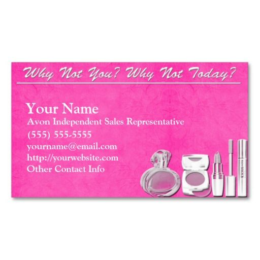 17 best avon business cards templates images on pinterest business avon business card reheart Gallery