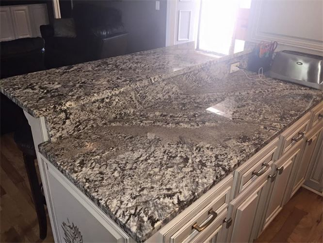 White Kitchen With Granite Lennon Countertops Google