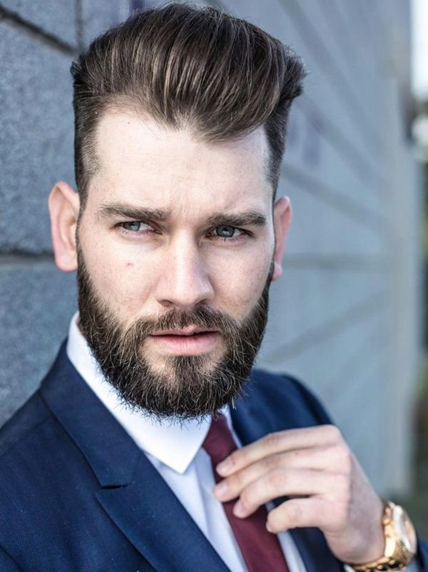 Hairstyles For Men With Thin Hair And Big Forehead Business Hairstyles Haircuts For Men Business Casual Hairstyles
