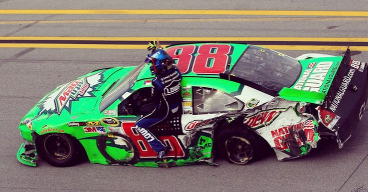 Pin by Diane Dale on Dale Earnhardt Jr Nascar crash