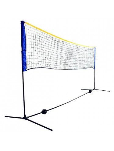 Δίχτυ Τέννις/Badminton Πτυσσόμενο Schildkrot   www.lightgear.gr