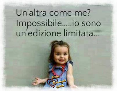 another like me? Impossible....I am a Limited edition!