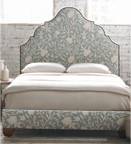 Coconut Bay Scalloped Headboard or Upholstered Bed