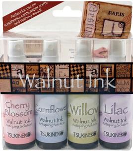 Tsukineko Walnut Inks - 4PK/Sampler II (new colors!!! oooh i want theeeese!)