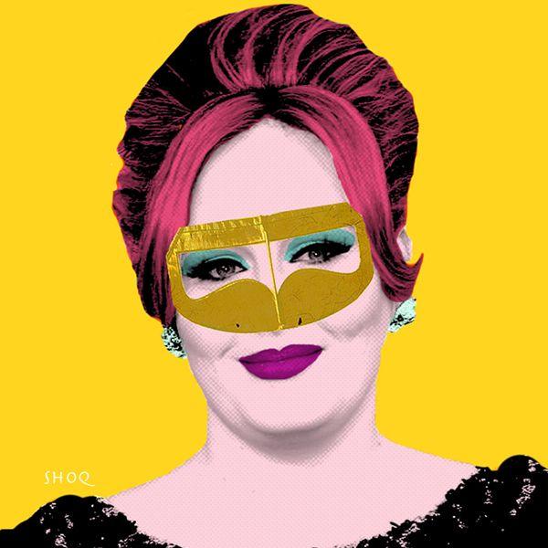 Adele Pop Art by shoq .. via Behance