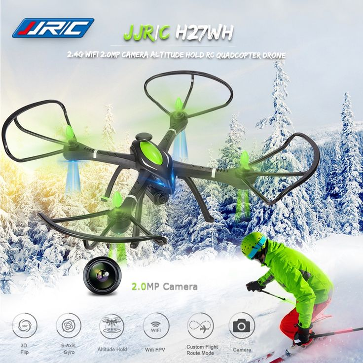 JJRC H27WH Wi-Fi FPV Drone with 2MP HD Camera