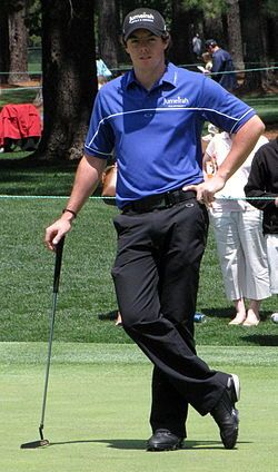 Rory Mcllroy. Professional Golfer.....love him and his Irish accent!
